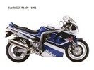 Thumbnail Suzuki GSX-R1100 (GSX-R1100K, GSX-R1100L, GSX-R1100M, GSX-R1100N) Motorcycle Workshop Service Repair Manual 1989-1992