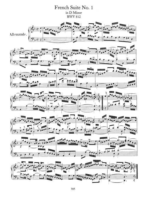 Pay for Bach Keyboard Sheet Music