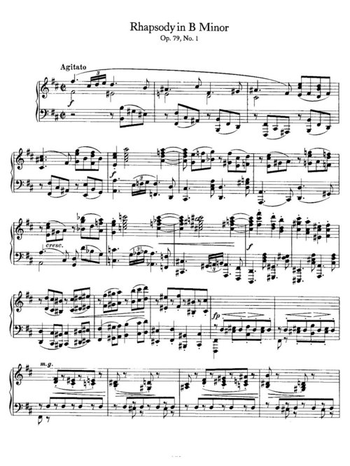 Pay for Brahms Keyboard Sheet Music for Piano