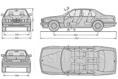 Pay for BMW 7 Series (E32) 735i, 735iL, 740i, 740iL, 750iL Service & Repair Manual 1988, 1989, 1990, 1991, 1992, 1993, 1994