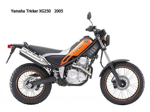 Yamaha Xg250 Tricker Motorcycle Workshop Service Manual 2005 Tradebit
