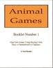 Thumbnail Animal Games Booklets 1