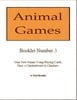 Thumbnail Animal Games Booklet 3