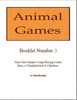 Thumbnail Animal Games Booklet 3