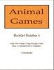 Thumbnail Animal Games Booklet 4