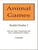 Thumbnail Animal Games Booklet 2