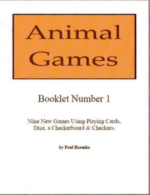 Pay for Animal Games Booklets 1