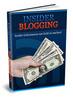Thumbnail Insider Blogging ebook + Webprojekt - PLR Lizenz
