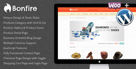 Thumbnail Bonfire is modern eCommerce theme