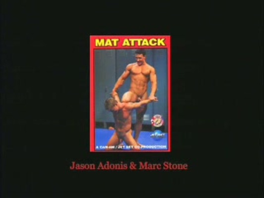 Pay for Gay Wrestling Mat Attack! Jason Adonis vs Marc Stone