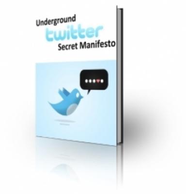 Pay for Twitter Secret Manifesto