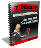 Thumbnail Deadly Webmaster Mistakes And How You Can Avoid Them!