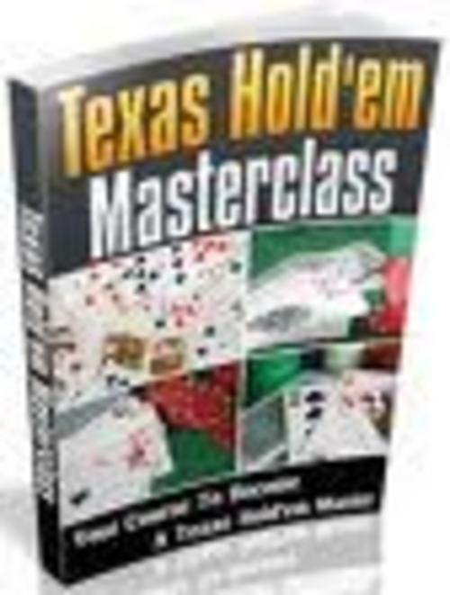 Pay for The Texas Hold em Masterclass eBook.