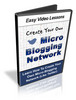 Thumbnail Create A Micro Blogging Network (Like Twitter)