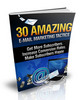 Thumbnail 30 Amazing E-mail Marketing Tactics MRR
