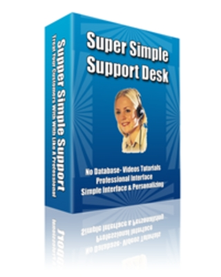 Pay for Super Simple Support Desk Script MRR