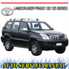 Thumbnail TOYOTA LANDCRUISER PRADO 120 125 SERIES 2002-2009 MANUAL