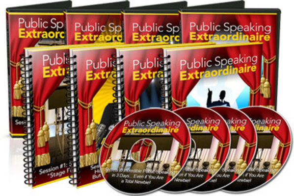 Pay for Public Speaking Extraordinaire Videos