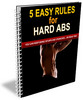Thumbnail 5 Easy Rules for Hard Abs with Private Label Rights