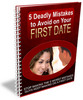 Thumbnail 5 Deadly Mistakes to Avoid on Your First Date PLR