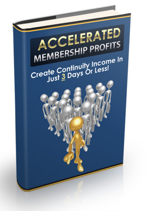 Pay for Accelerated Membership Profits