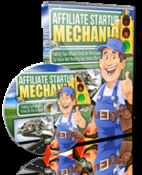 Pay for Affiliate Startup Mechanic Comes with Master Resale Rights