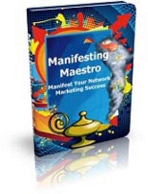 Pay for Manifesting Maestro Comes with Master Resale Rights