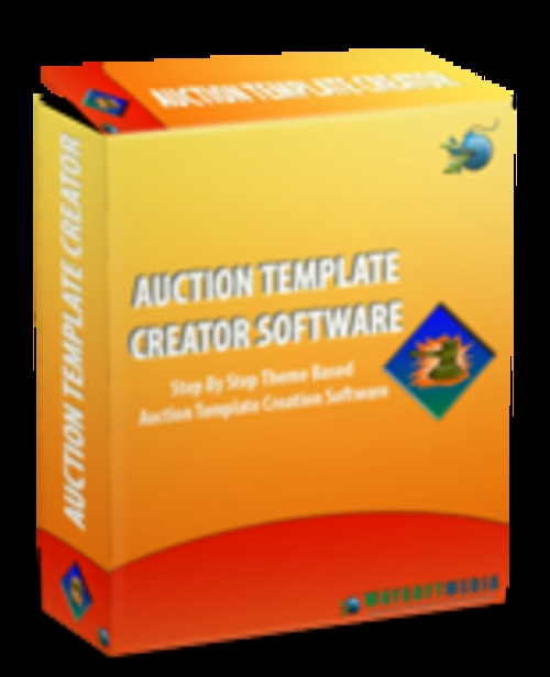 Pay for Auction Template Creator Comes with Master Resale Rights