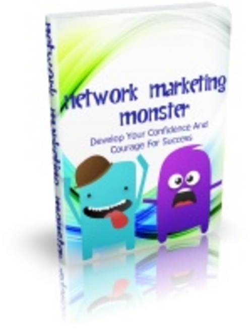 Pay for Network Marketing Monster Comes with Master Resale Rights