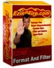 Thumbnail Ezine Filter And Format Software & Master Resale Rights