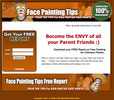 Thumbnail Face Painting Squeeze Page