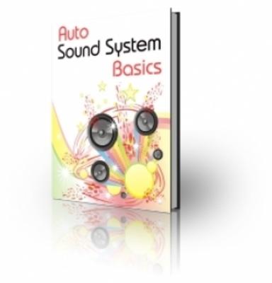 Pay for Auto Sound System Basics (PLR)