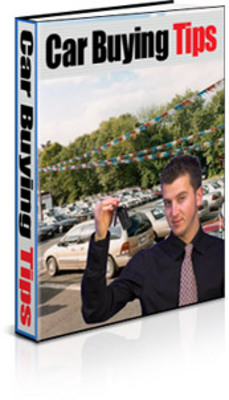 Pay for Car Buying Tips with PLR