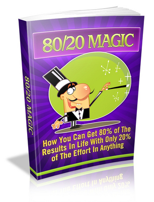 Pay for Magic of 80 of the results with only 20 work