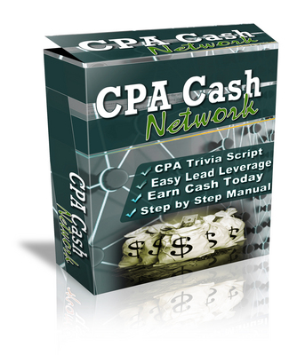 Pay for The CPA Cash Network Script with Resale rights