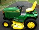 Thumbnail John Deere 415, 455 Lawn & Garden Tractors Service Technical Manual(TM1836)