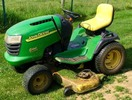 Thumbnail John Deere G100, G110 Garden Tractors Service Technical Manual(TM2020)