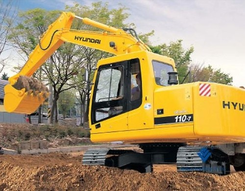for Hyundai R110-7 Crawler Excavator Service Repair Workshop Manual ...