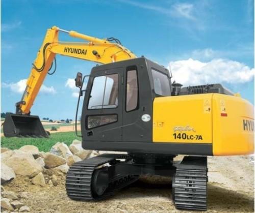 for Hyundai R140LC-7A Crawler Excavator Service Repair Workshop Manual ...