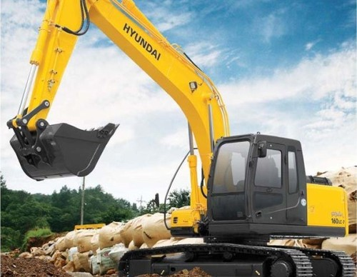 for Hyundai R160LC-7 Crawler Excavator Service Repair Workshop Manual ...
