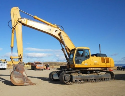 Hyundai R450LC-3 Crawler Excavator Service Repair Workshop Manual DOWNLOAD