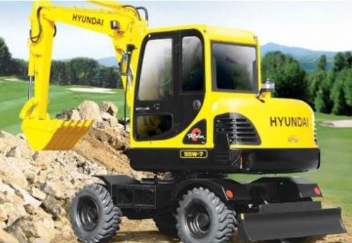 Pay for Hyundai R55W-7 Wheel Excavator Service Repair Workshop Manual DOWNLOAD