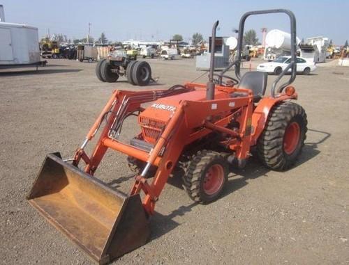 Kubota Tractors Parts G2000 : Kubota b tractor illustrated master parts list manual