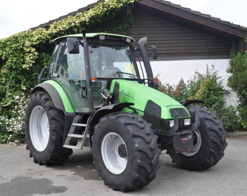 Deutz agrotron 80 90 100 105 tractor folleto