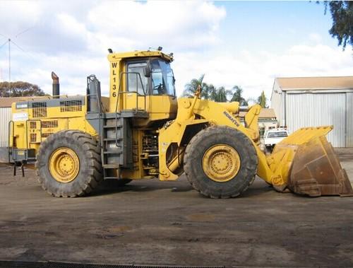 komatsu wa600 3 wa600 3d avance wheel loader service