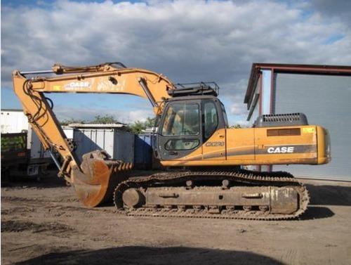 Pay for CASE CX290 Crawler Excavator Service Repair Workshop Manual DOWNLOAD