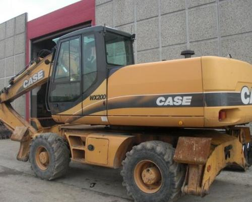 Pay for Case WX200 Wheeled Excavator Parts Manual DOWNLOAD