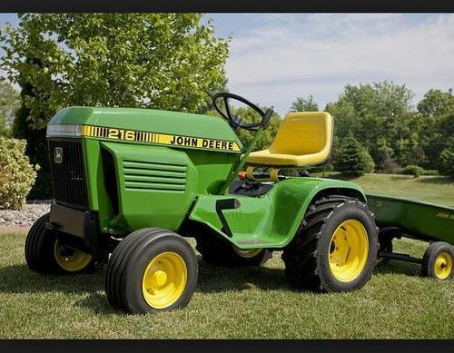 John Deere 214 Garden Tractor Attachments