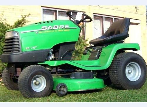 John Deere Sabre Lawn Tractor Service Technical Manual Tm Gx10238
