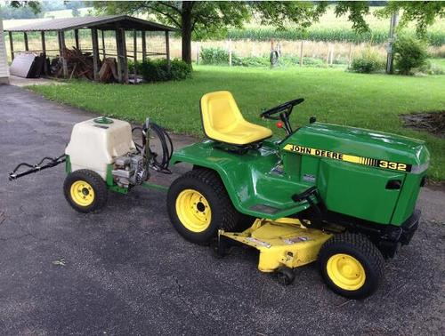 Pay for John Deere Walk-Behind Tillers and 5B Sprayer Service Technical Manual(TM1233)